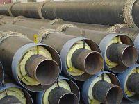 供应缠绕聚氨酯玻璃钢保温管